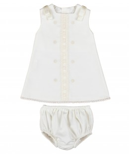 Baby Dress Set 2 Pieces Made In Spain
