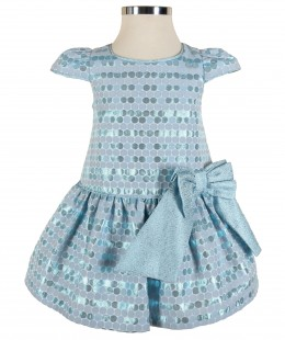 Baby Girl Dress By Valmax Made In Italy ( To know available model sizes and request please contact us whatsApp 00966550520411 )
